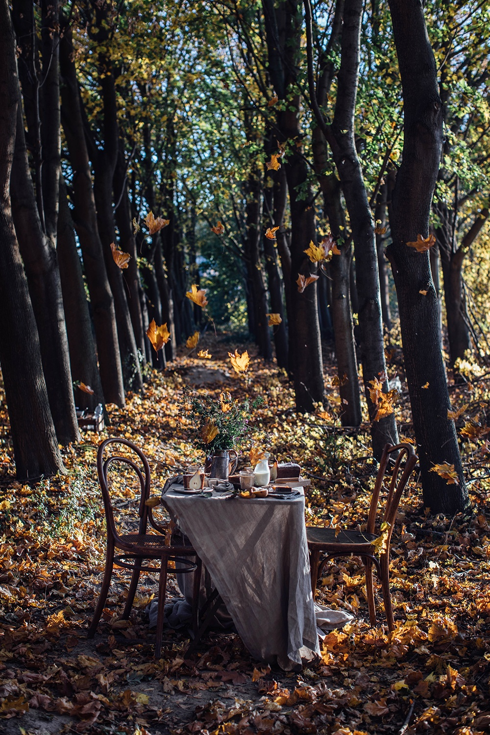 Dreamy Autumn Table Setting
