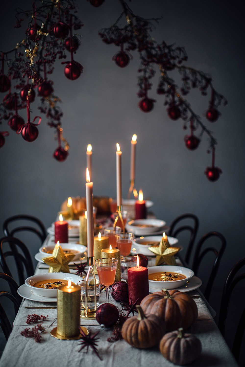 Christmas Gathering Styling