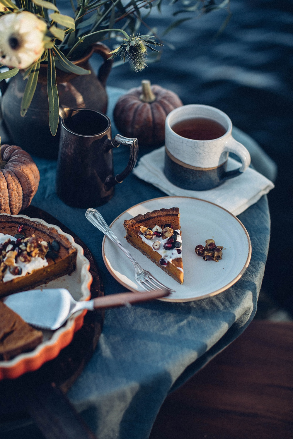Gluten-free Pumpkin Tart