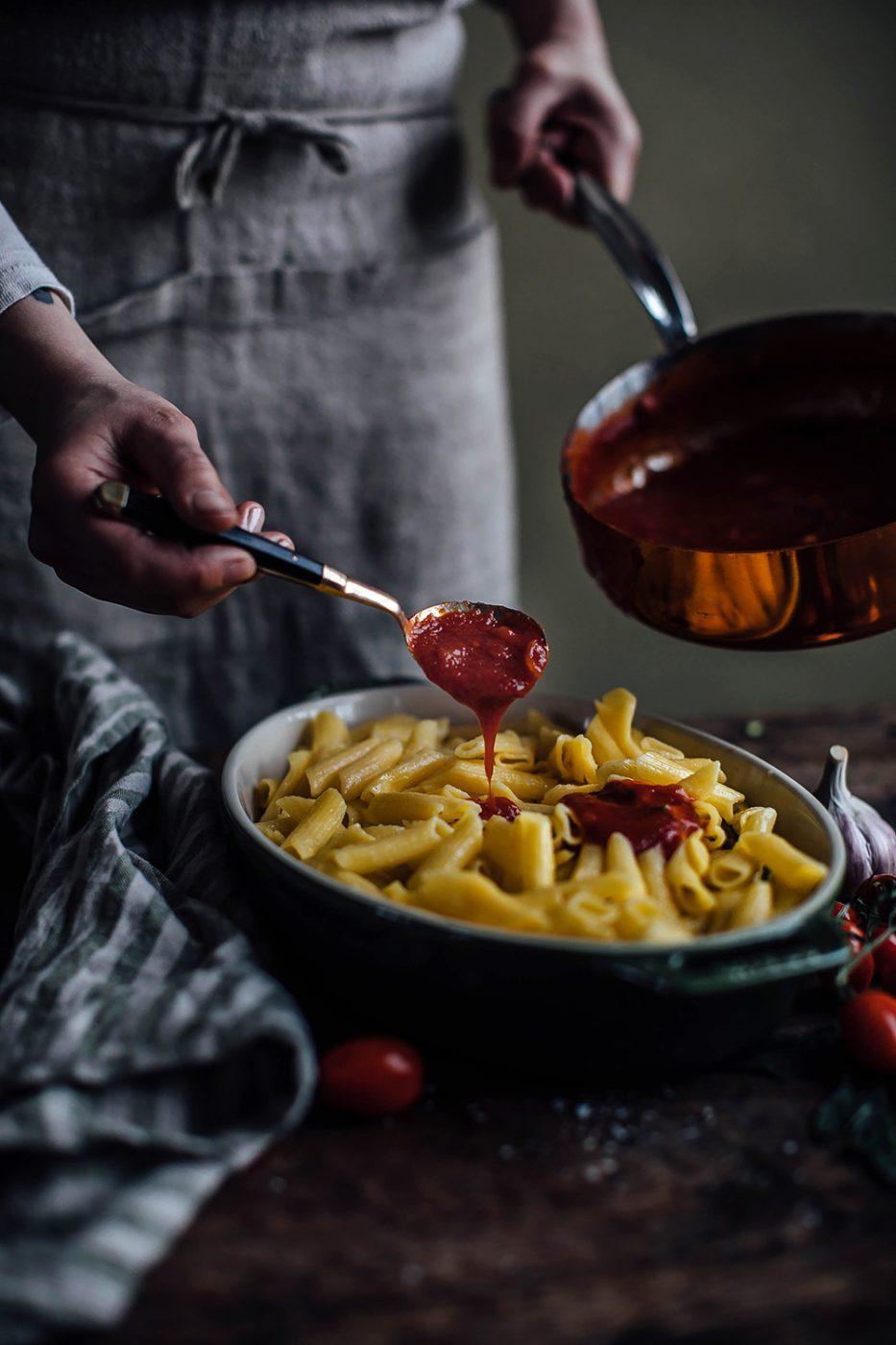 gluten-free spring pasta