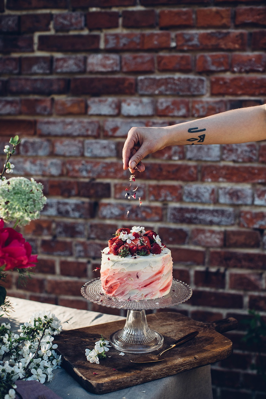 glutenfree berry cake