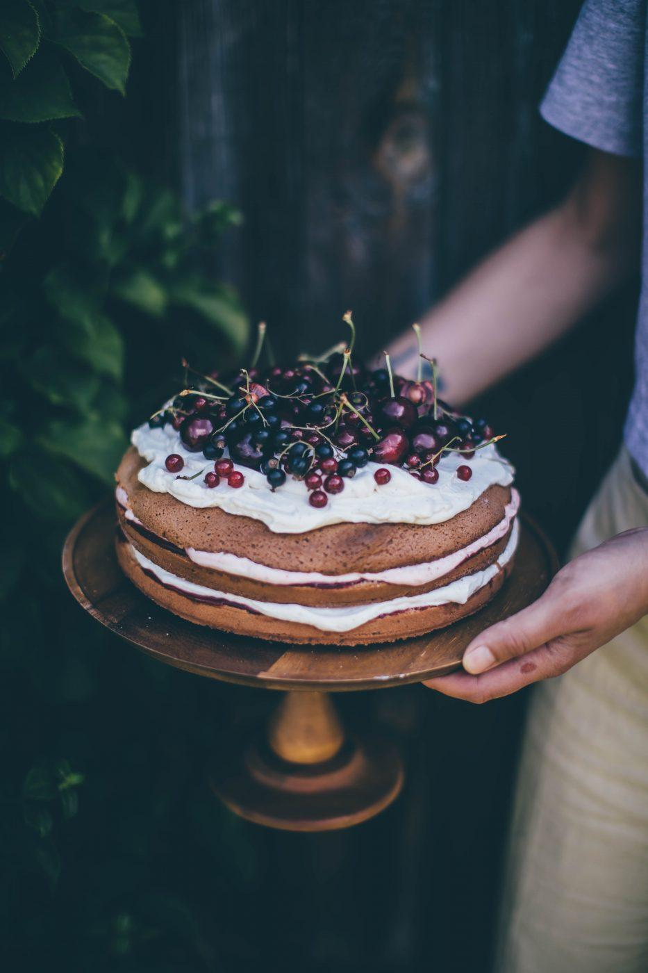 Image for Gluten-free Cherry Cake
