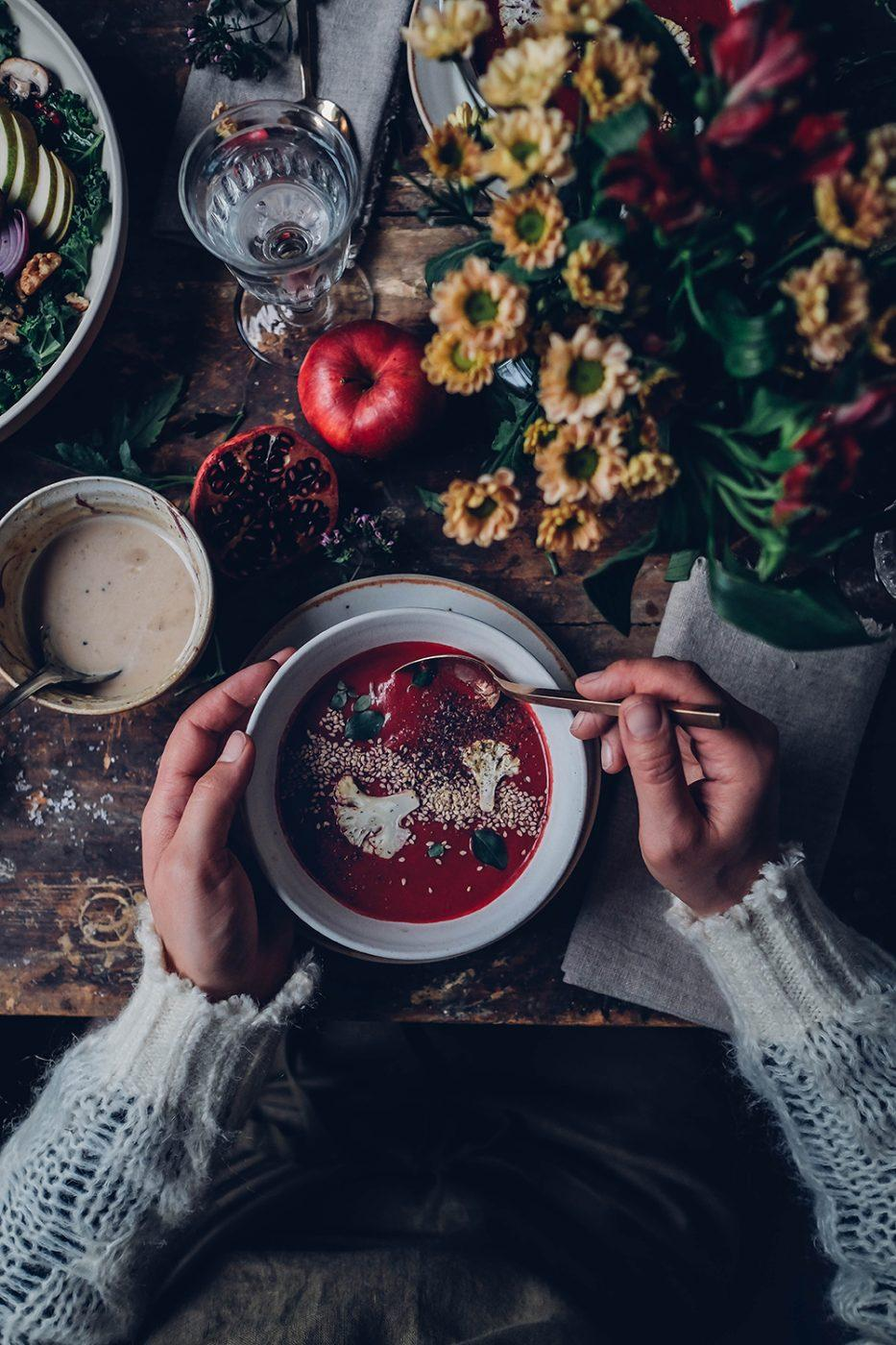 Image for Kale Salad, Beetroot Soup and the new Vegetarian Cookbook from EDEKA