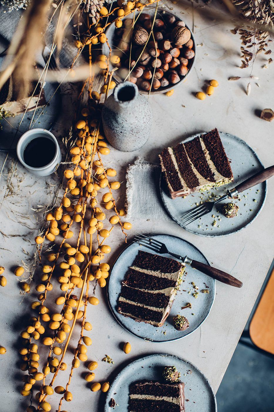 gluten-free chocolate coffee cake