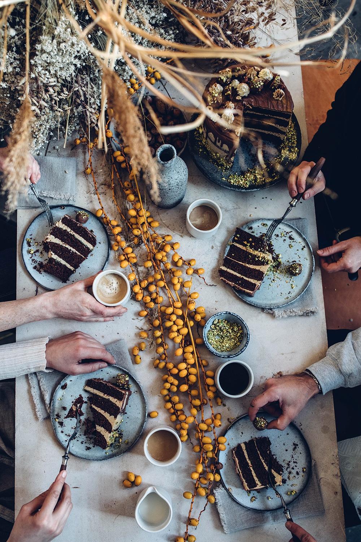 gluten-free chocolate coffee cake