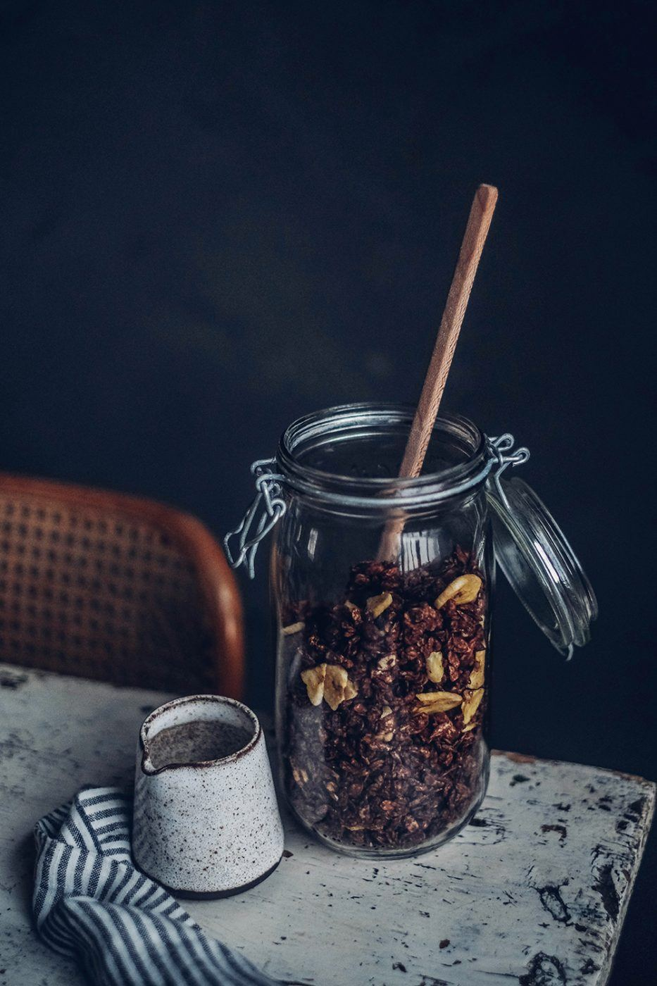 gluten-free chocolate granola homemade