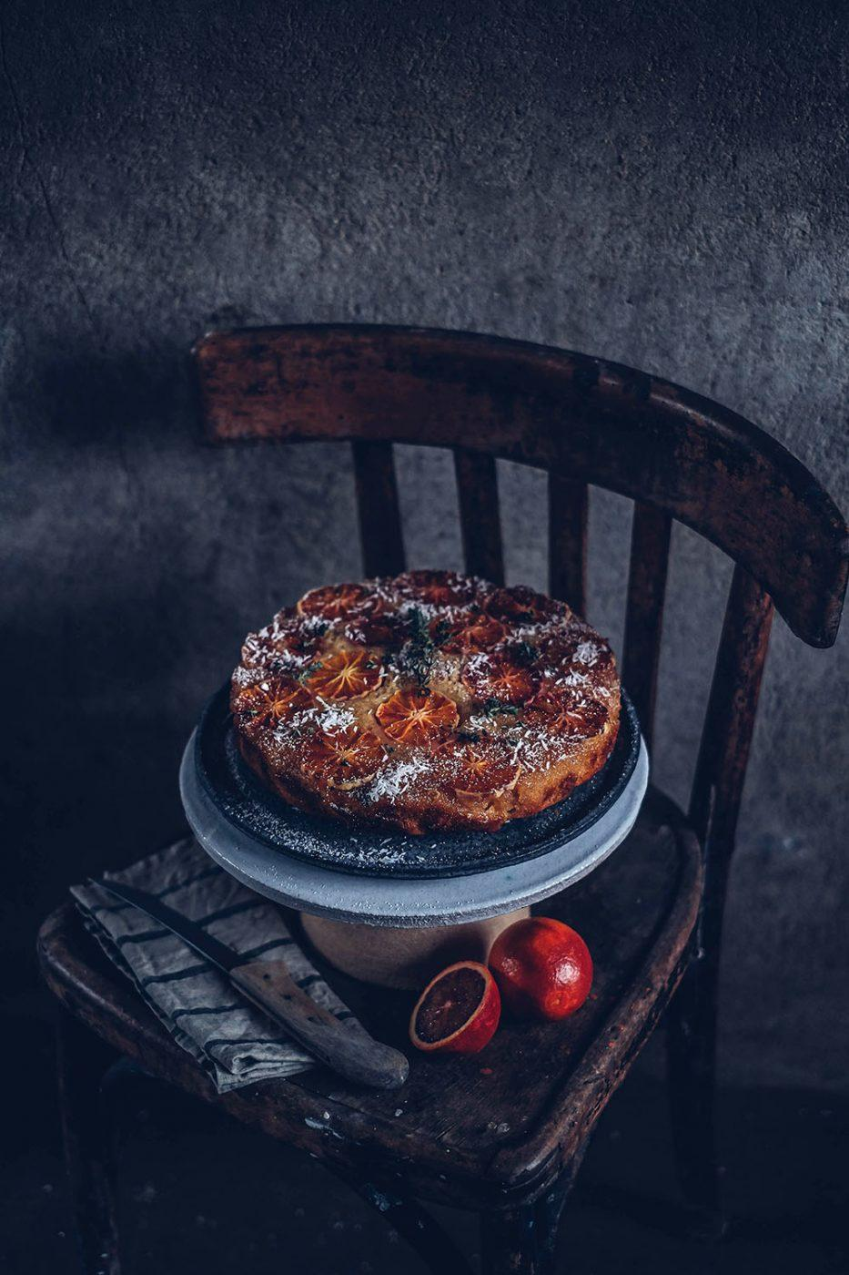 gluten-free blood orange cake