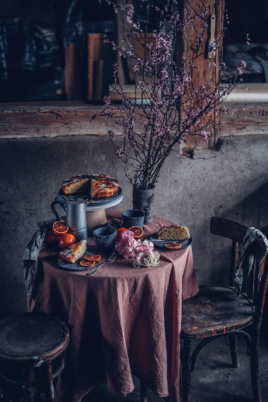 Gluten-free Blood Orange Upside-Down Cake