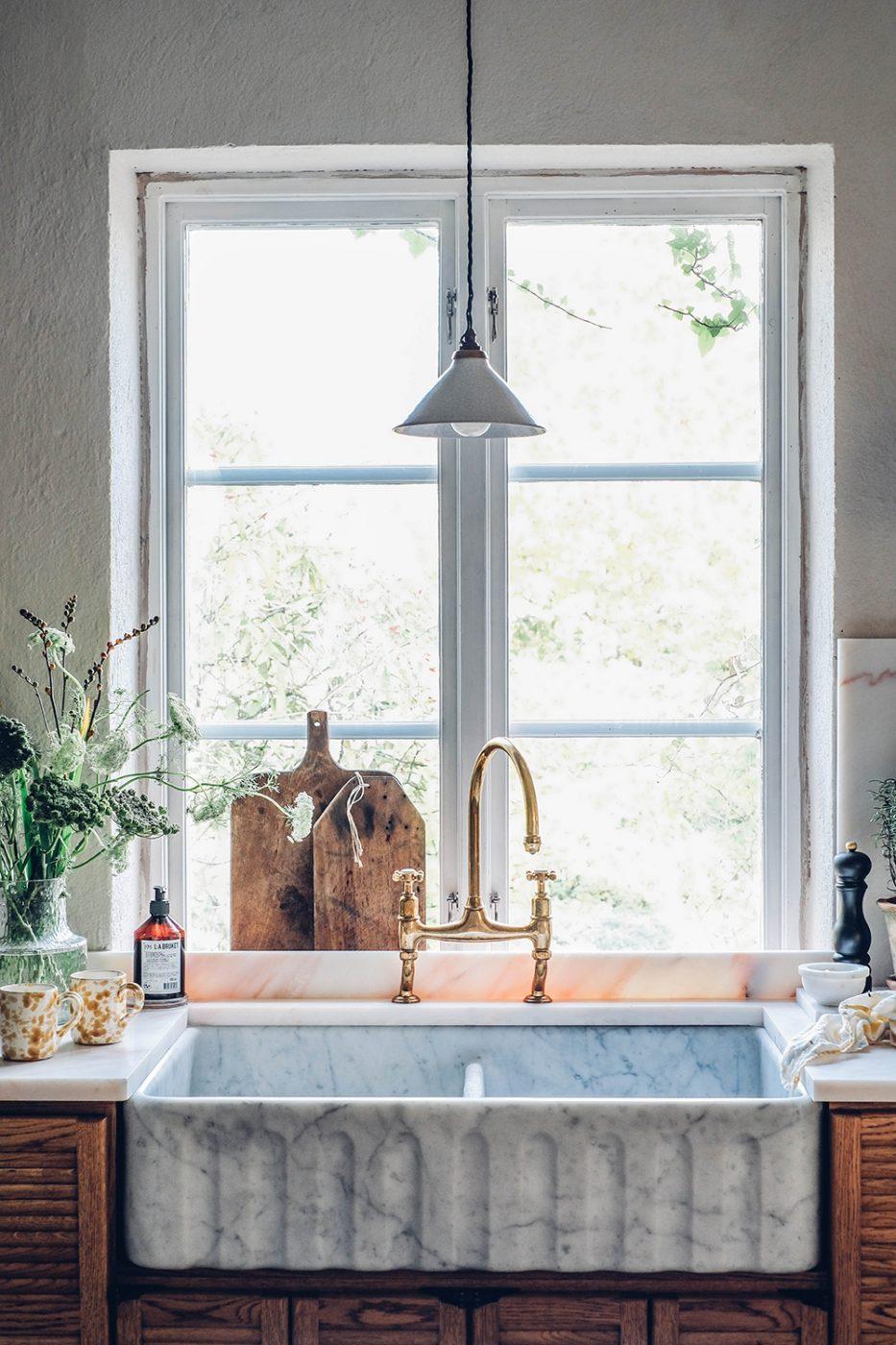 Image for Our Kitchen in Sweden – The Devol Haberdasher Kitchen