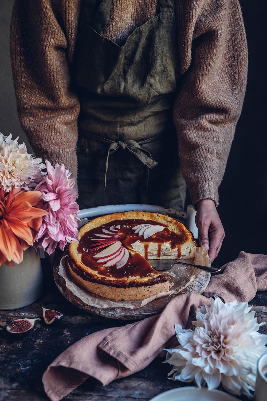 gluten-free apple cheesecake