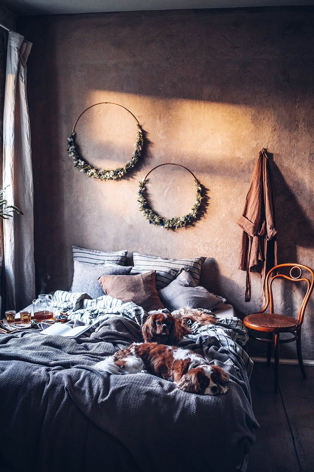 The coziest Bed Linen from Lovely Linen and a gluten-free Dutch Baby