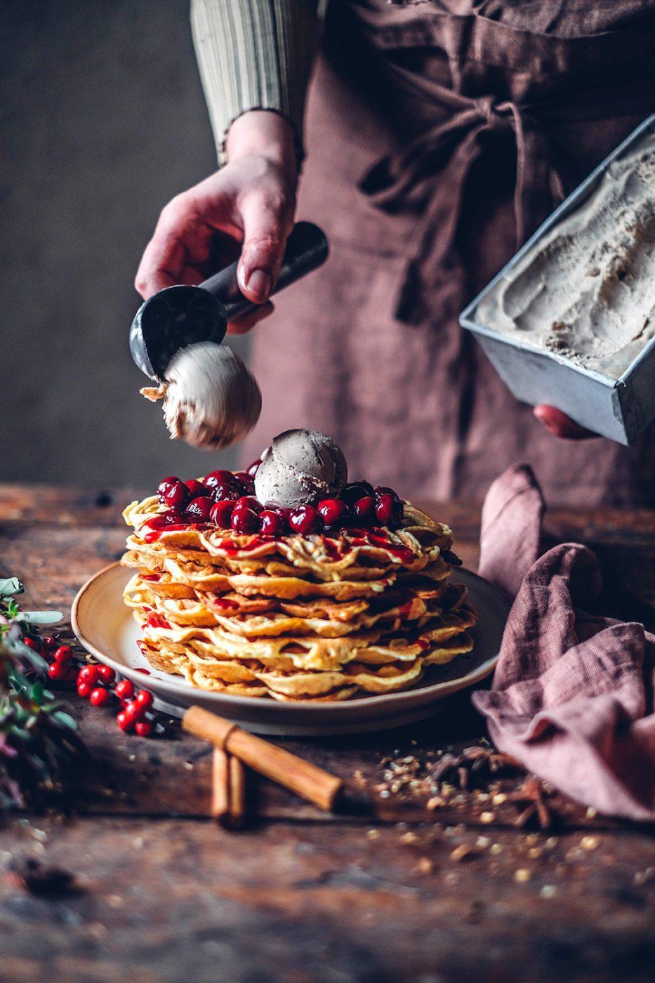 gluten-free waffle recipe