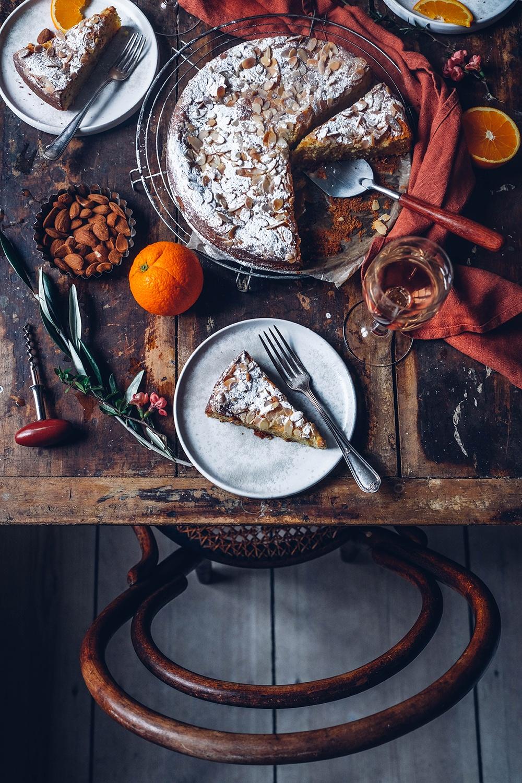 Gluten-free Orange Almond Ricotta Cake