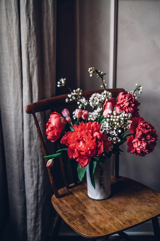 spring flowers peonies