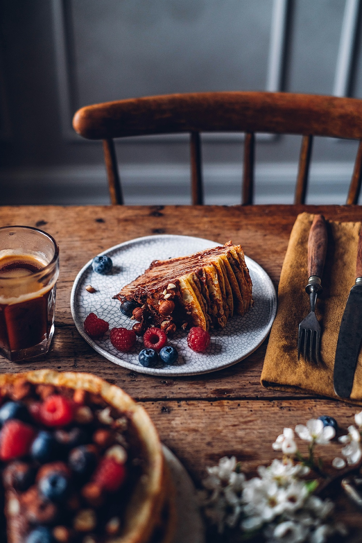 Gluten-free Chocolate Crêpe Cake