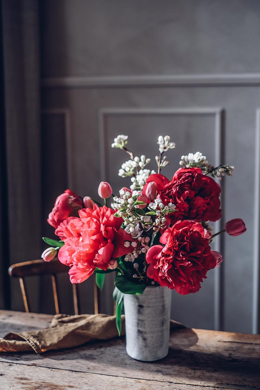 peonies spring flowers