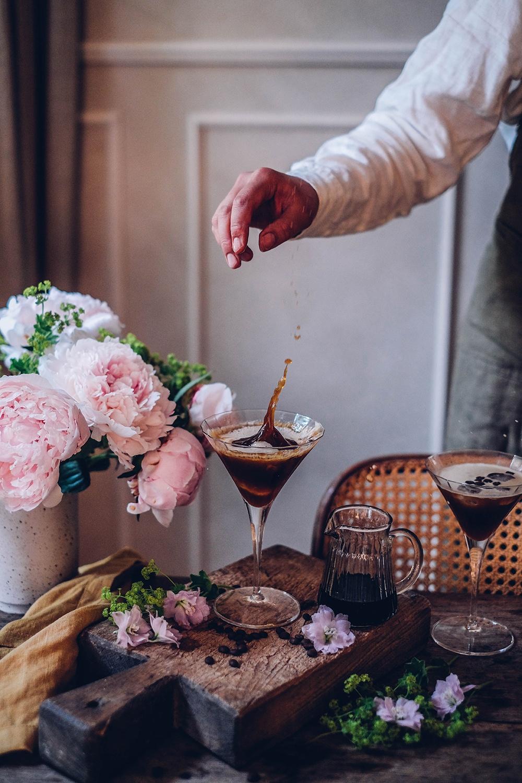Espresso Martini & a gluten-free Key Lime Pie